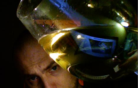Svante med vitt vin